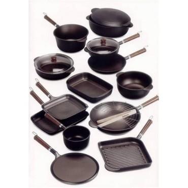 Plat de cuisson en fonte d'aluminium