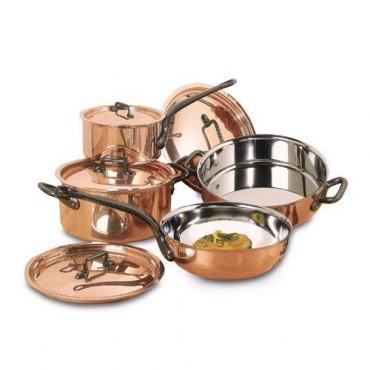Plat de cuisson en cuivre